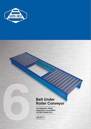 Belt under Roller Conveyor Brochure Download