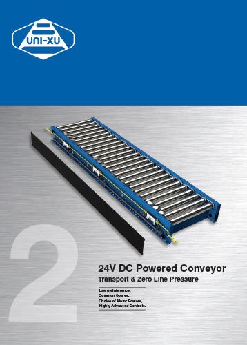 24V DC Powered Conveyor Download