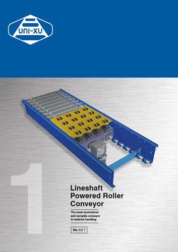 Lineshaft Powered Roller Conveyor Download