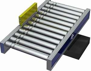 Aluminium pusher unit