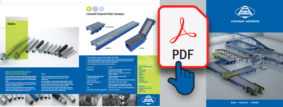 Conveyor Units. Materials Handling.